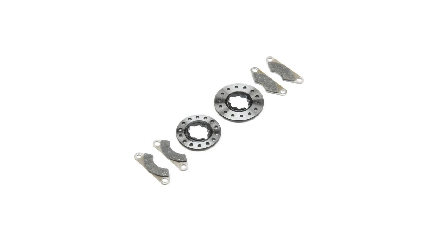 Image for Heavy Duty Brake Pads and Disks: 8B, 8T 4.0 from HorizonHobby
