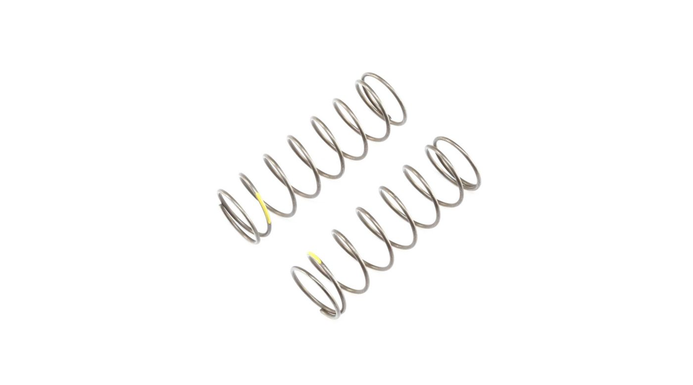 Image for 16mm EVO Front Shock Spring, 4.7 Yellow (2): 8B 4.0 from Horizon Hobby