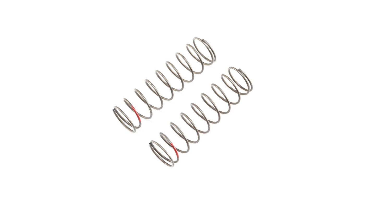 Image for 16mm EVO Rear Shock Spring, 3.8 Red (2): 8B 4.0, 8X from Horizon Hobby