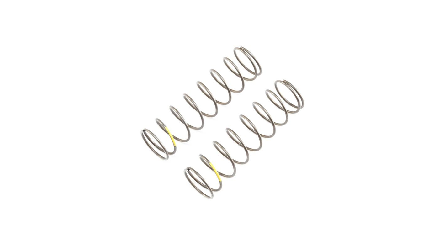 Image for 16mm EVO Rear Shock Spring, 4.2 Yellow (2): 8B 4.0, 8XE from Horizon Hobby
