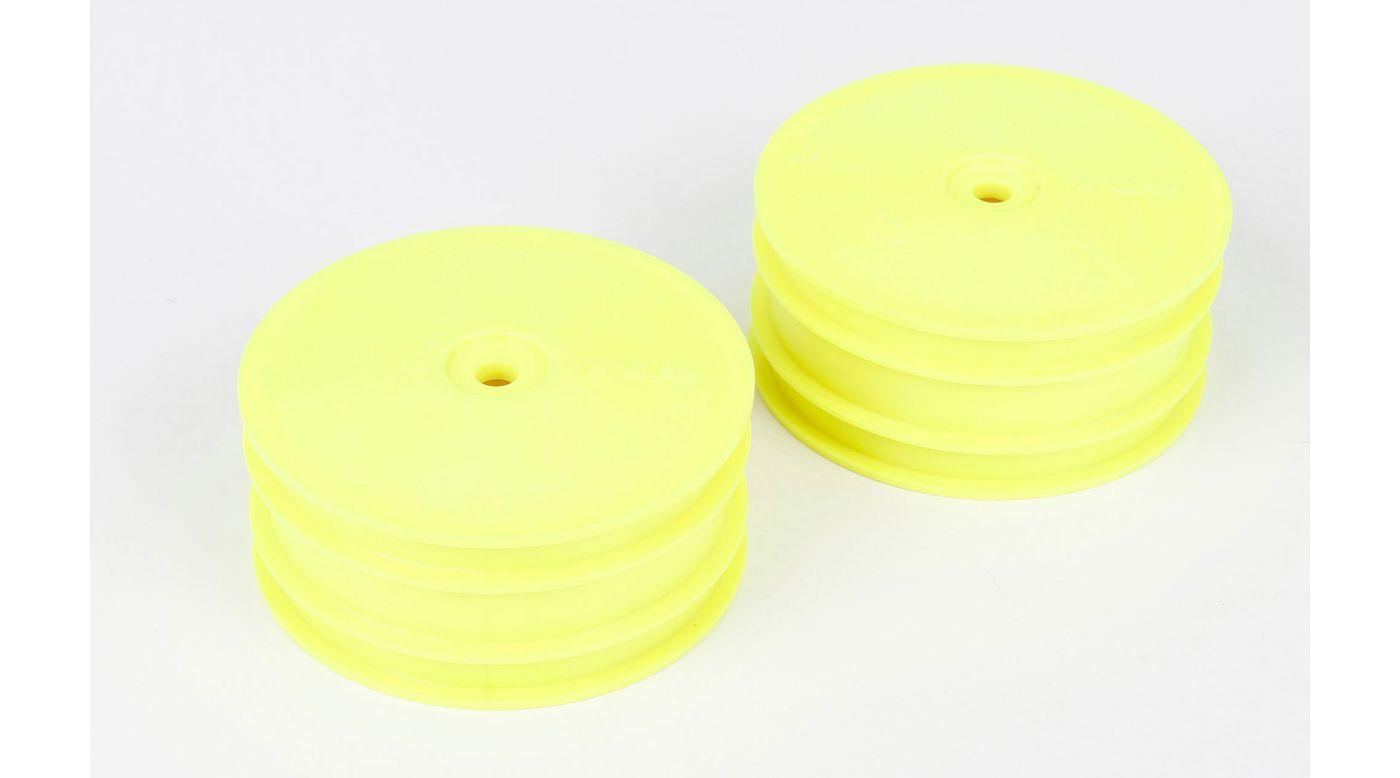 Grafik für TLR 22-4: Vorderad Gelb (2) in Horizon Hobby