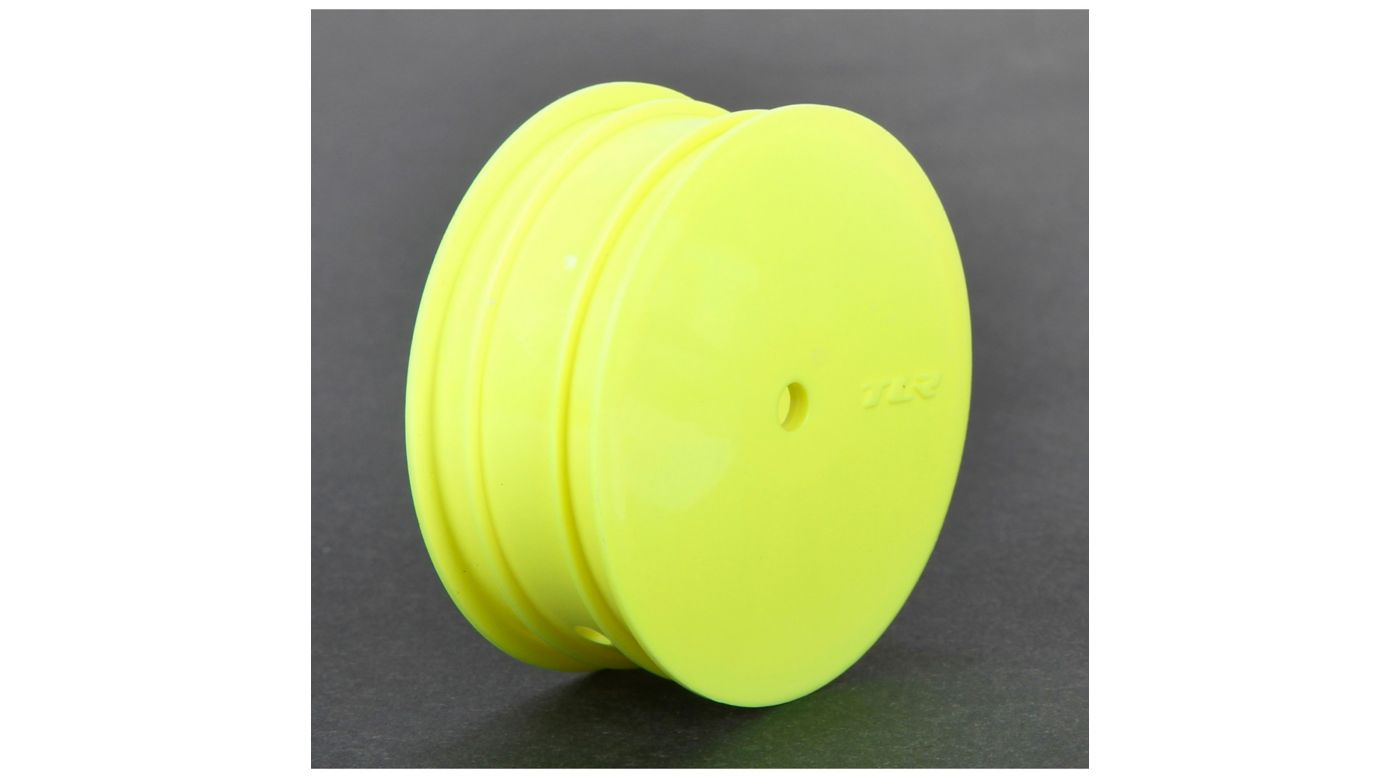 Image for Front Wheel, 12mm Hex, Yellow (2): 22 3.0 from HorizonHobby