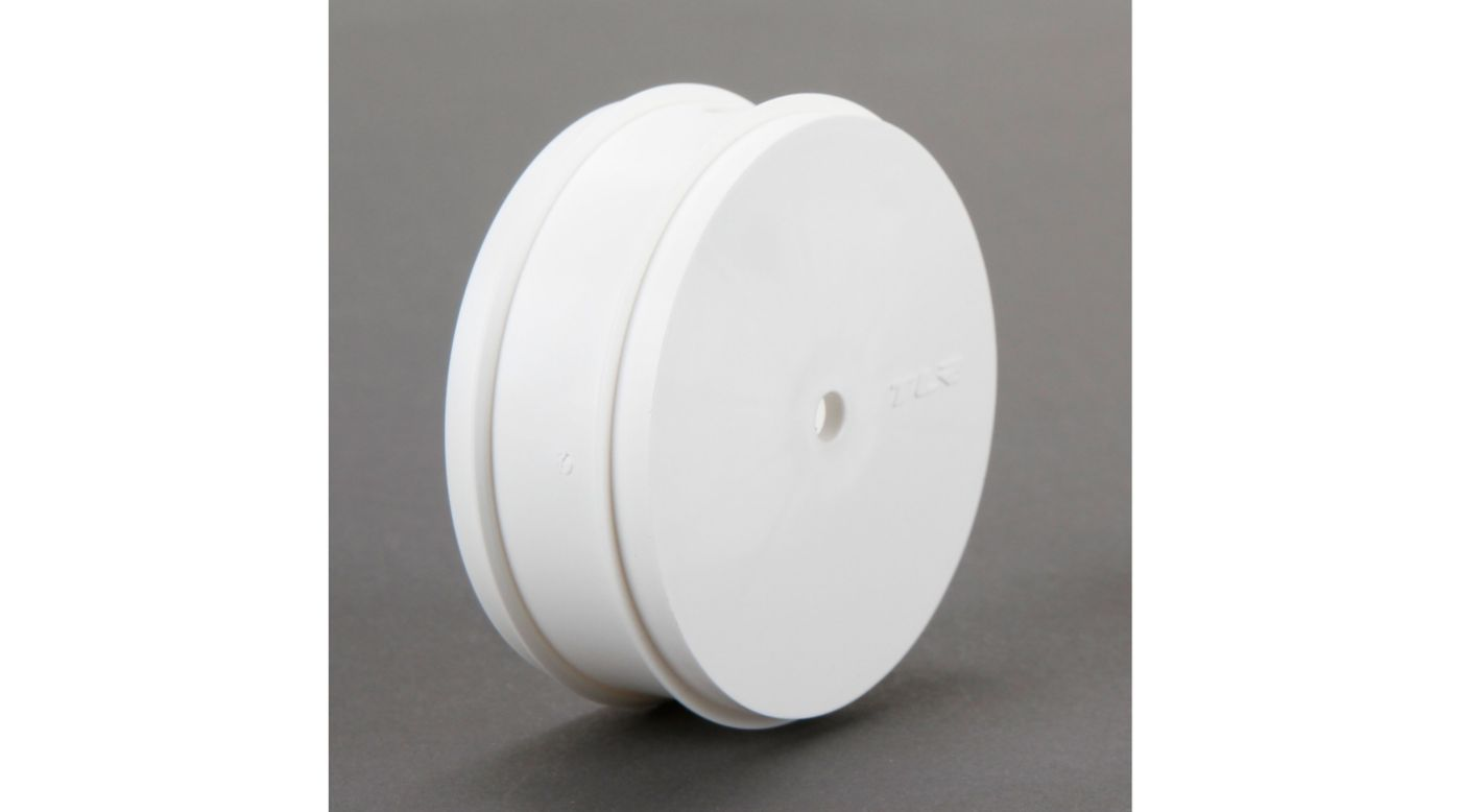 Image for 61mm Front Wheel, 12mm Hex, White (2): 22 3.0 from HorizonHobby