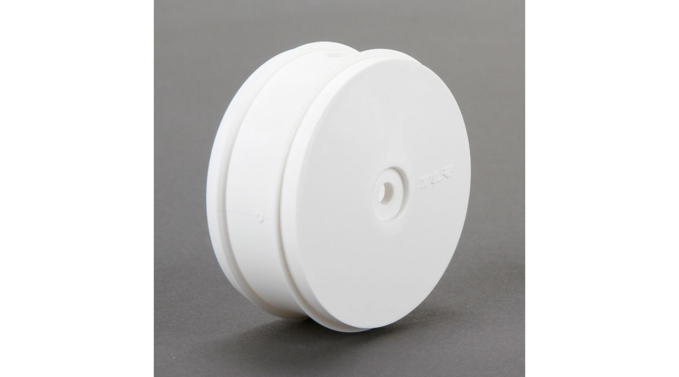 Image for 1/10 Front Buggy 61mm Wheels, 12mm Hex, White (2): 22-4 from Horizon Hobby