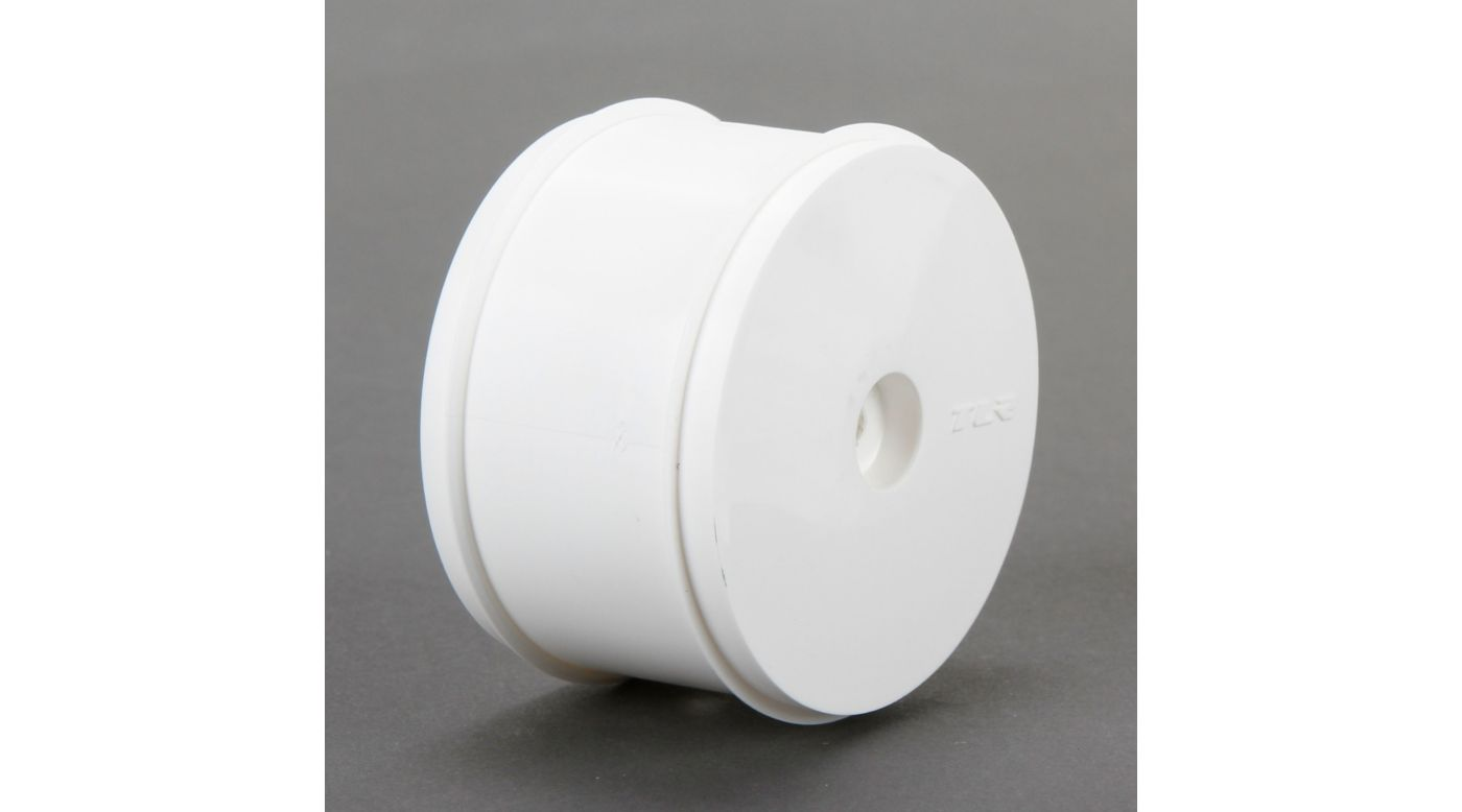 Image for 61mm Rear Wheel, 12mm Hex, White (2): 22/22-4 from HorizonHobby