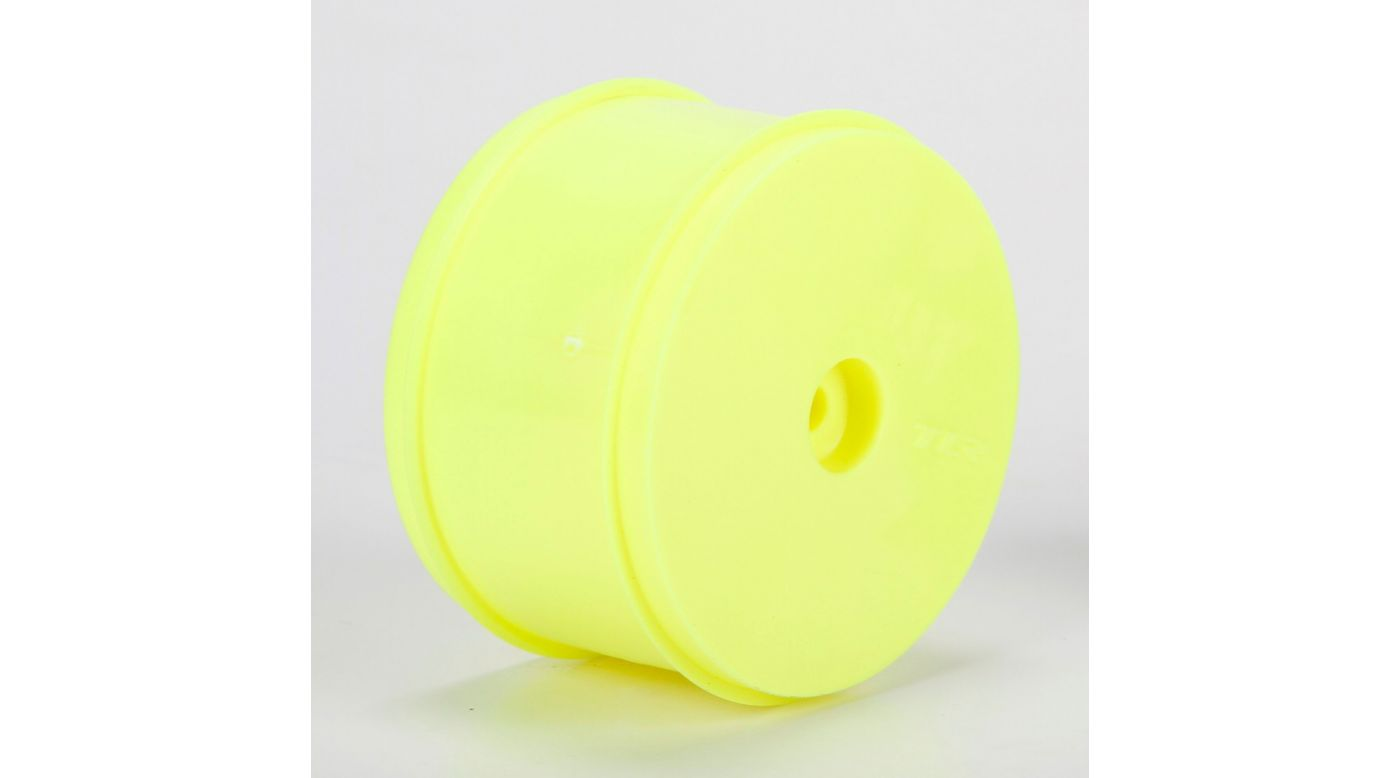 Image for 1/10 Front Buggy 61mm Wheels, 12mm Hex, Yellow (2): 22, 22-4 from HorizonHobby