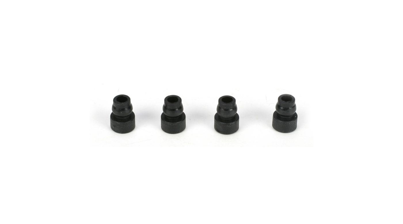 Image for Upper Shock Bushing (4): 22/22-4 from HorizonHobby