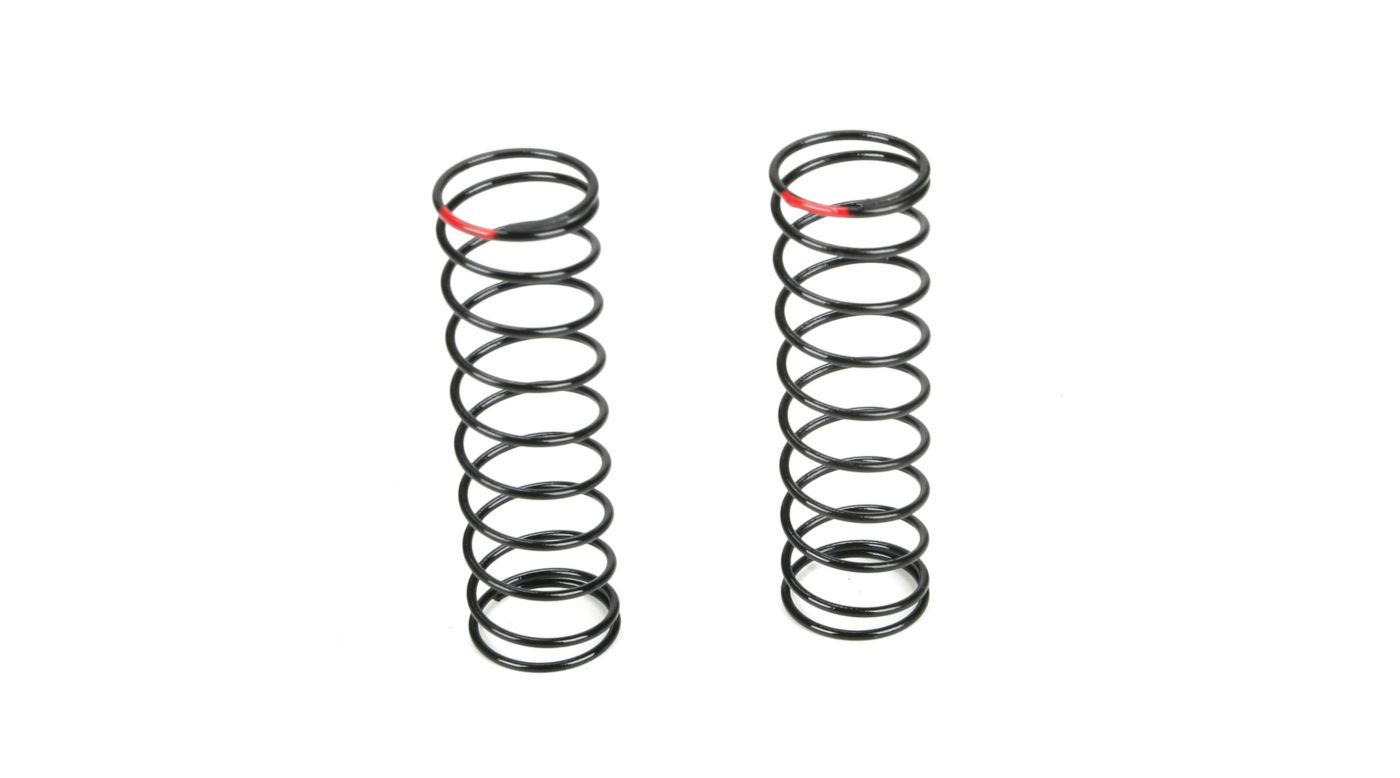 Image for Rear Shock Spring, 2.6 Rate, Red from HorizonHobby