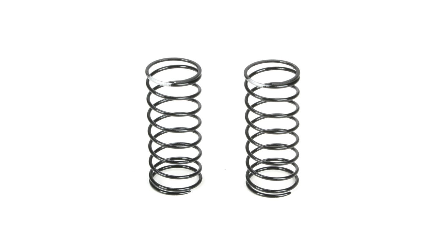 Image for Front Shock Spring, 3.2 Rate, Silver from HorizonHobby