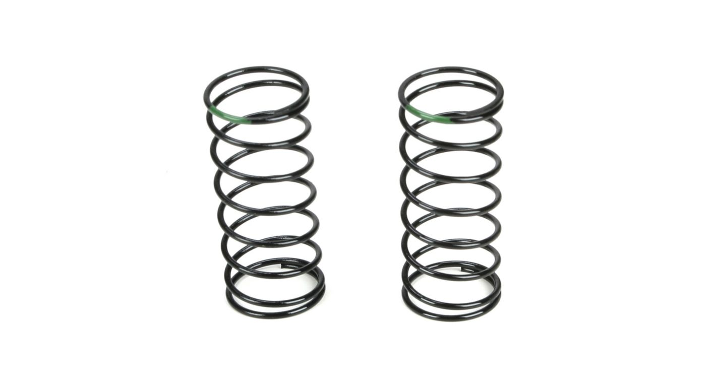 Image for Front Shock Spring, 3.5 Rate, Green from HorizonHobby