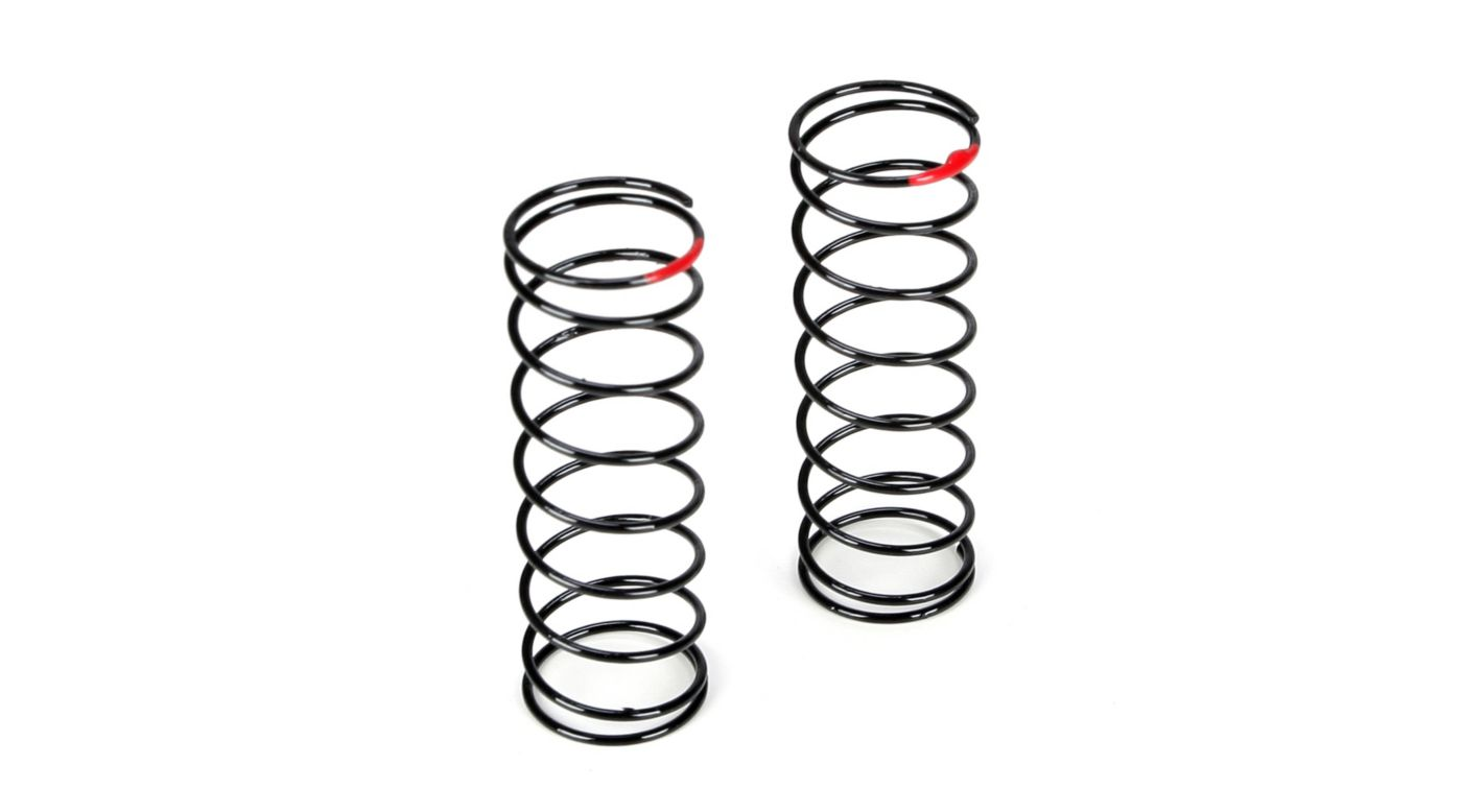 Image for Front Shock Spring, 2.5 Rate, Red: 22T from HorizonHobby