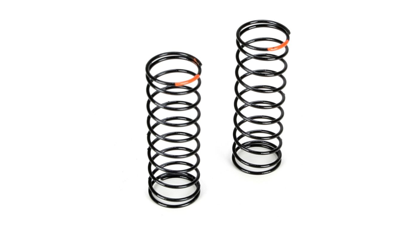 Image for Front Shock Spring, 2.9 Rate, Orange: 22T from HorizonHobby