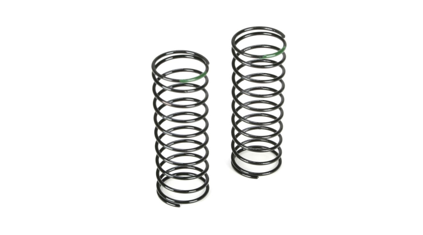 Image for Front Shock Spring, 3.5 Rate, Green: 22T from HorizonHobby