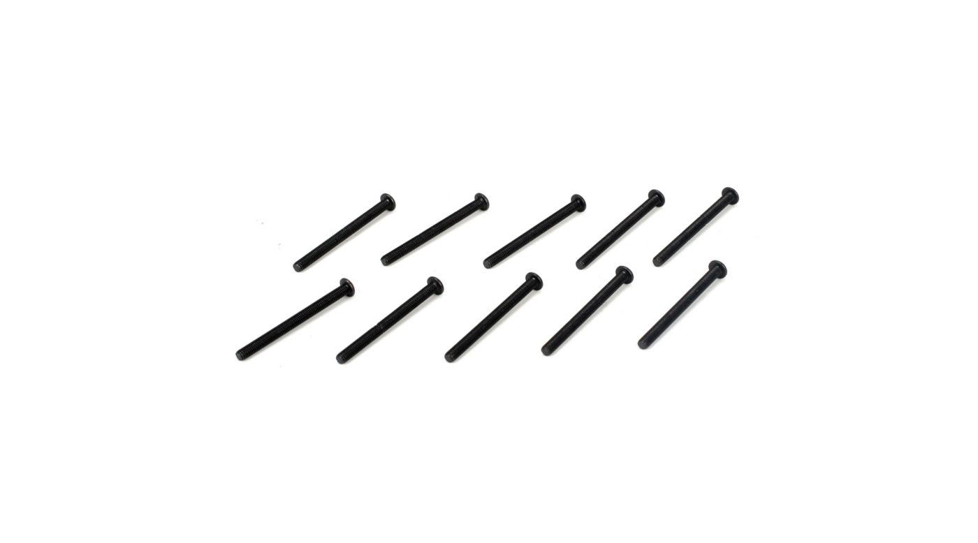 Image for Button Head Screws, M3 x 35mm (10) from Horizon Hobby