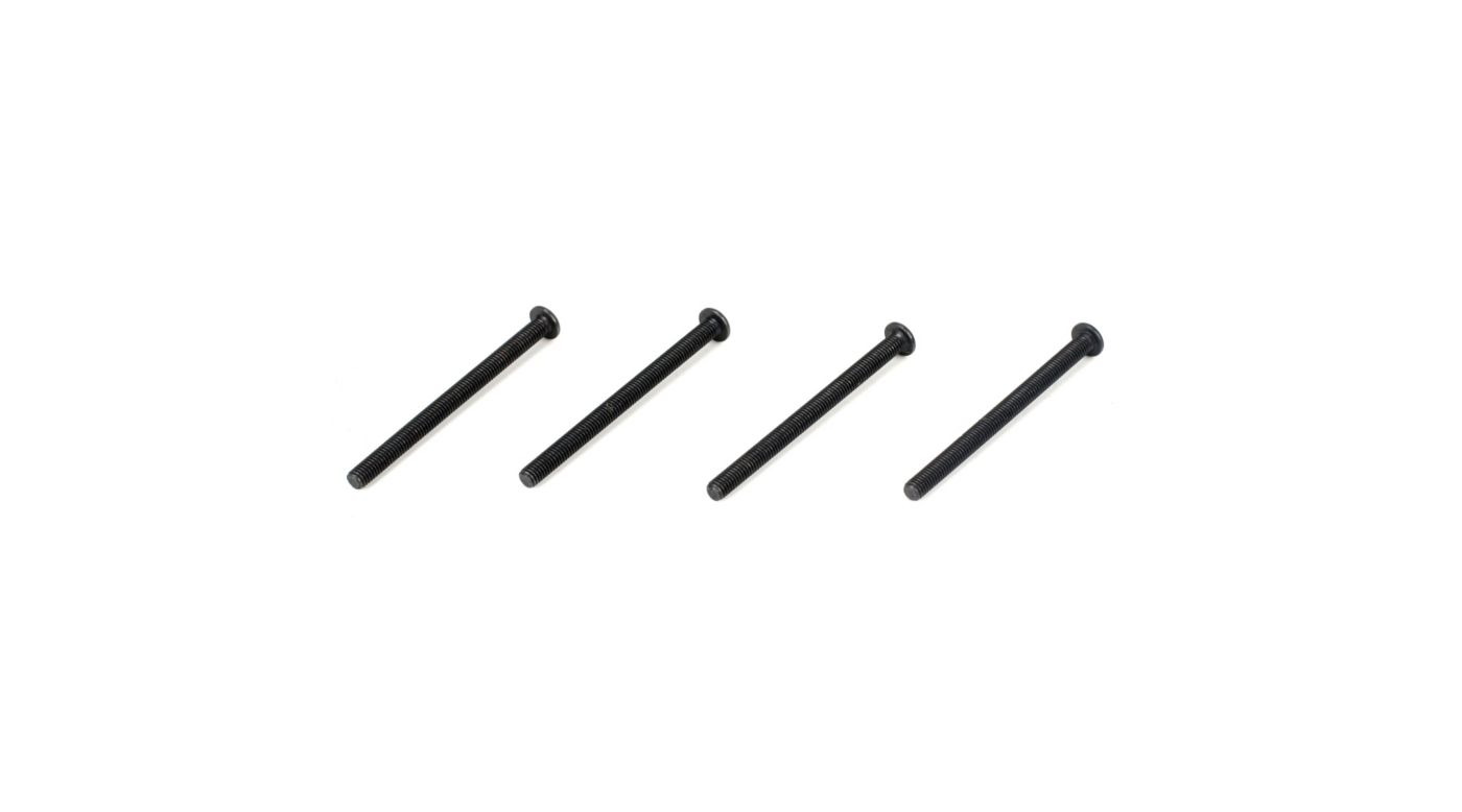 Image for Button Head Screws, M3 x 40mm (4) from HorizonHobby