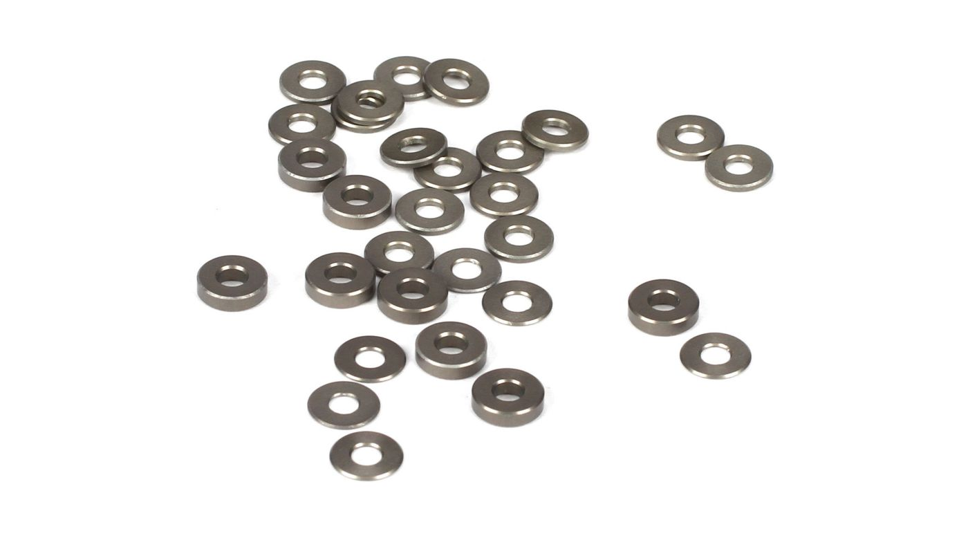 Image for Ball Stud/Hub Spacer Set, Aluminum: 22 from HorizonHobby