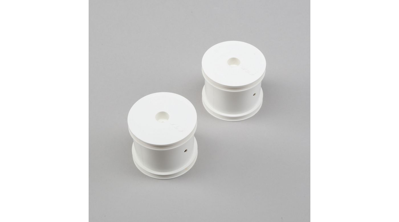 Image for Front/Rear Wheel, White (2): 22T from HorizonHobby