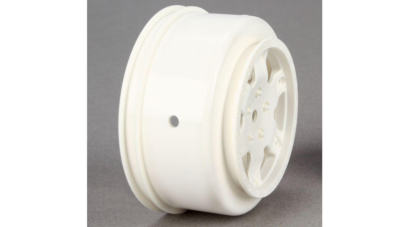 Image for Wheel, White (2): 22SCT from HorizonHobby