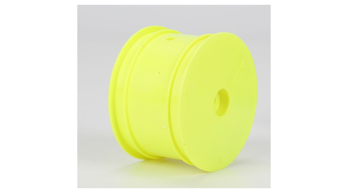 Image for Rear Wheel, Yellow (2): 22/22-4 from HorizonHobby