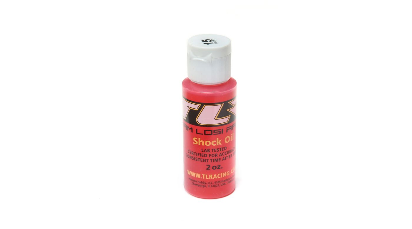 Image for Silicone Shock Oil, 15wt, 2oz from HorizonHobby