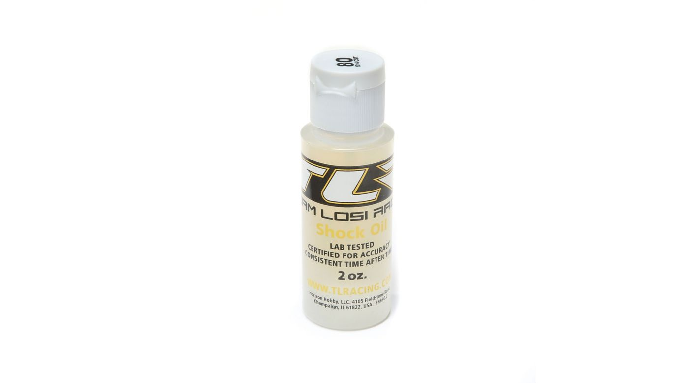 Image for Silicone Shock Oil, 80wt, 2oz from HorizonHobby