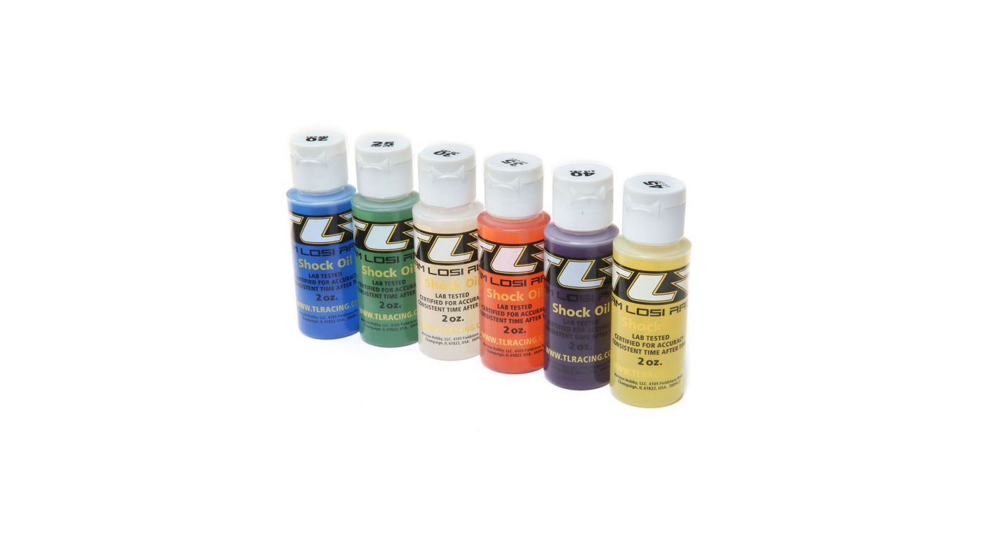 Image for Shock Oil, 6Pk, 20, 25, 30, 35, 40, 45, 2oz from HorizonHobby