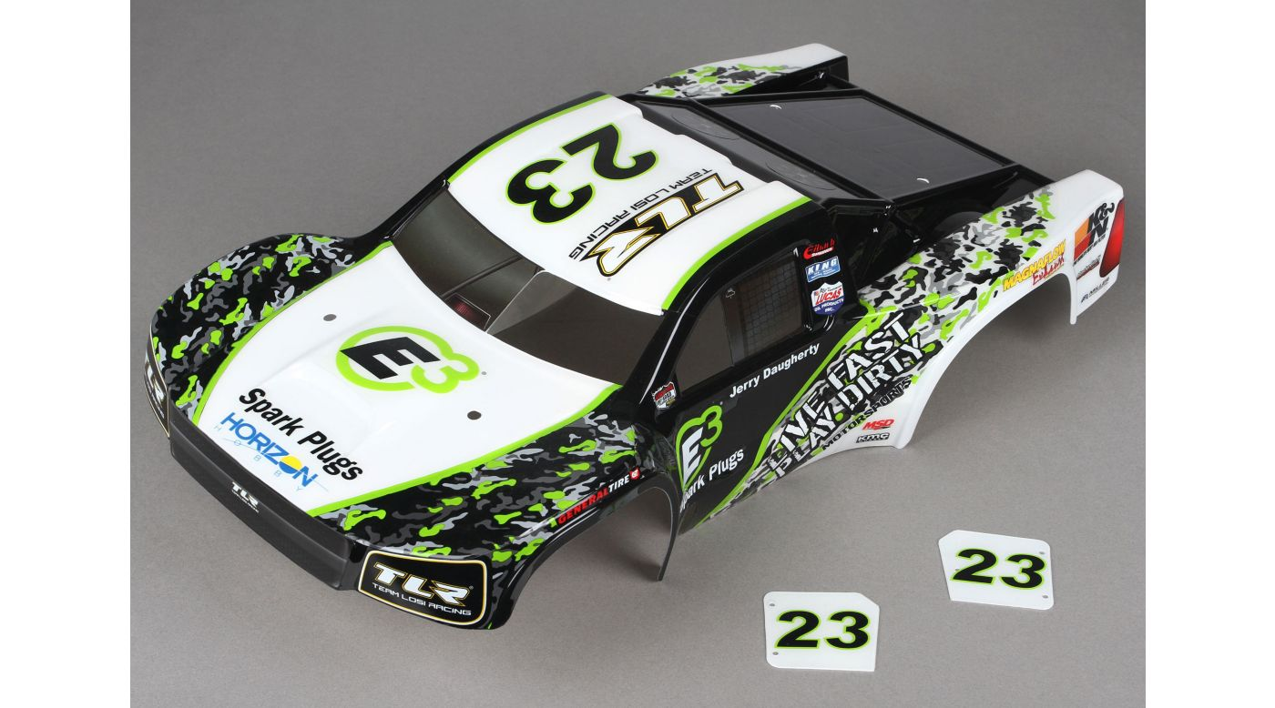 Image for TEN-SCT Painted Body, E3 Spark Plugs from HorizonHobby