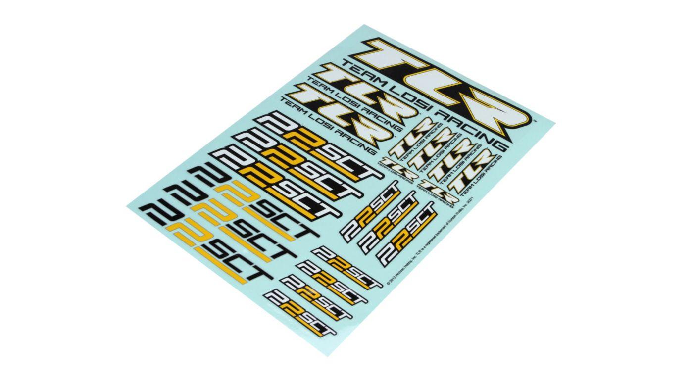 Image for Sticker Sheet  22 SCT from HorizonHobby