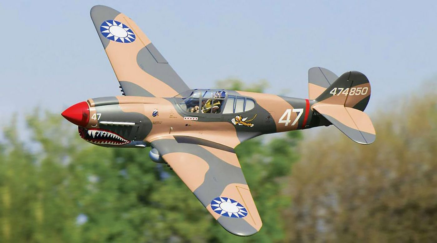 Image for Giant P-40 Warhawk Scale GP ARF 2.6-3.3, 86