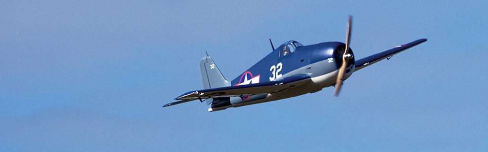 Giant F6F Hellcat 55-61cc GP/EP ARF