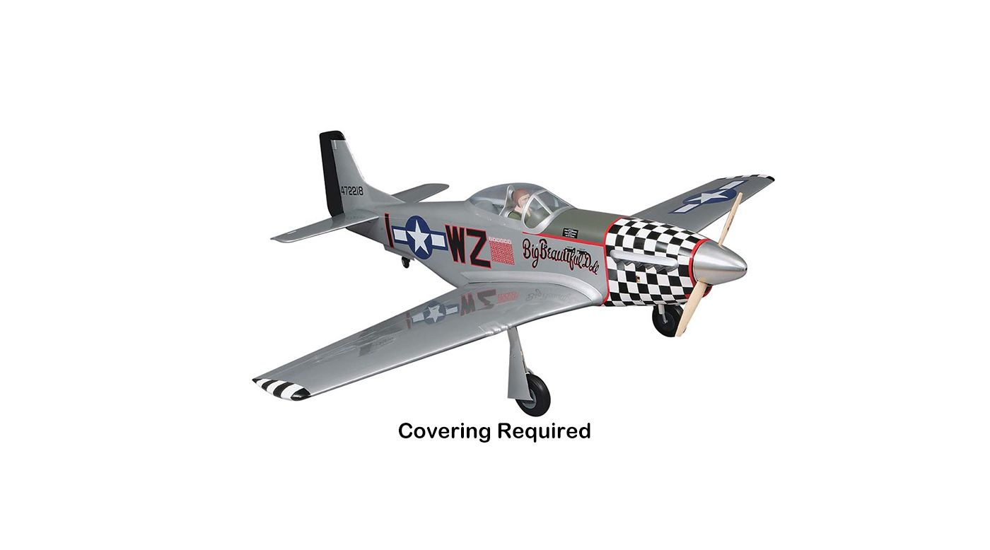 Image for 1/5 Giant P-51D Mustang RTC, 84.5