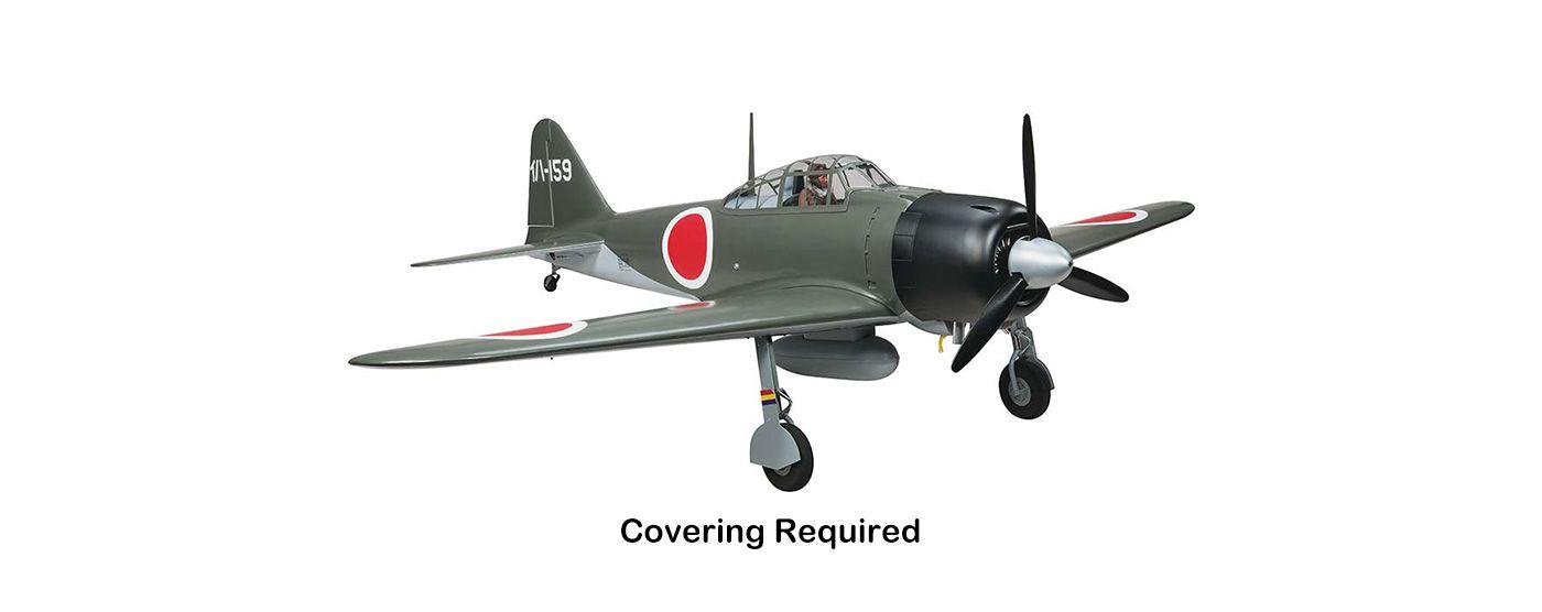 Image for Giant Zero A6M RTC 50-60cc, 86
