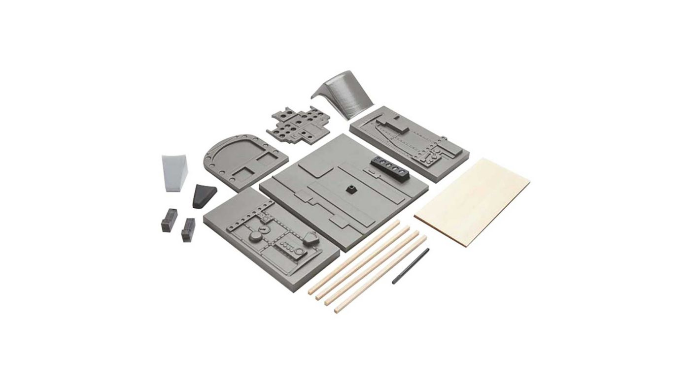 Image for Cockpit Kit Parts Set: Giant Zero from HorizonHobby