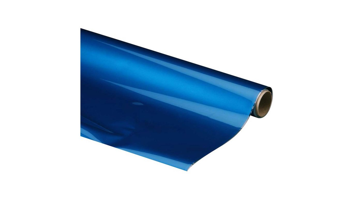 Image for MonoKote Metallic Blue 6' from HorizonHobby