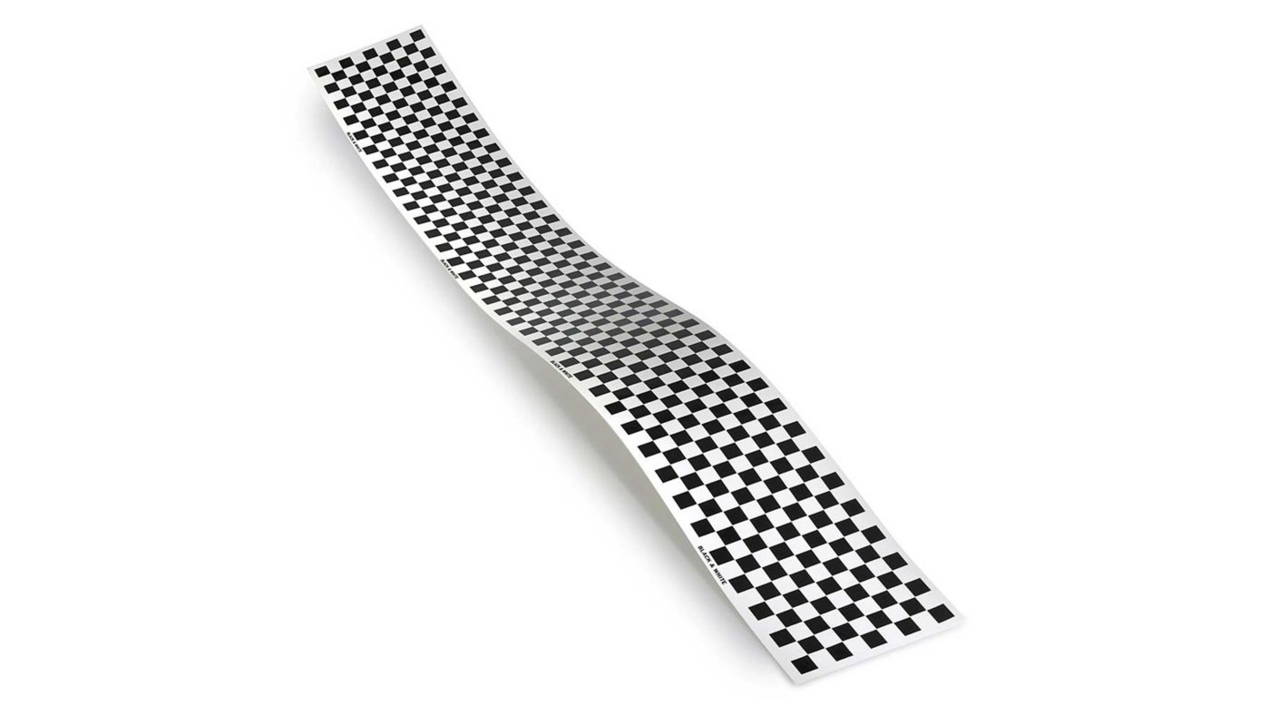 Image for Trim MonoKote Checkerboard Black from HorizonHobby