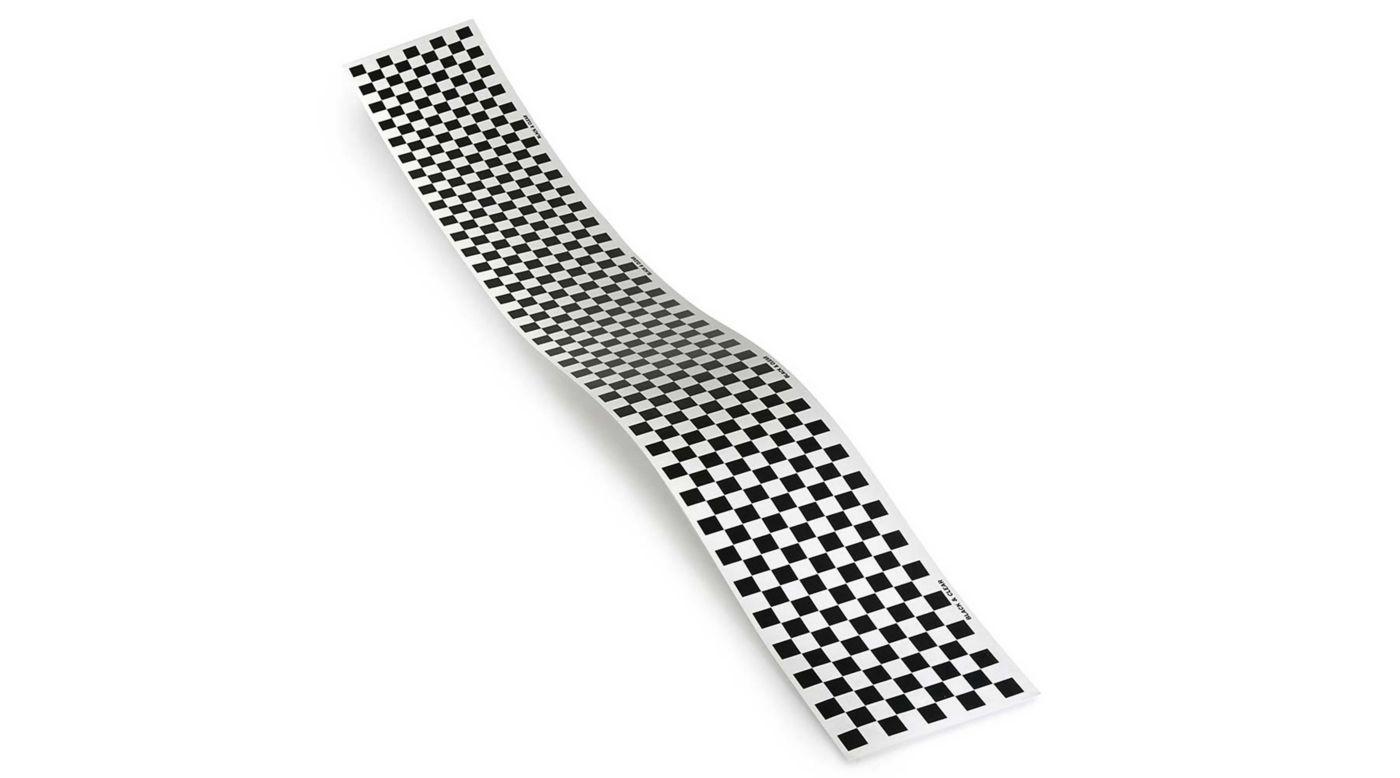 Image for Trim MonoKote Checkerboard Black from HorizonHobby