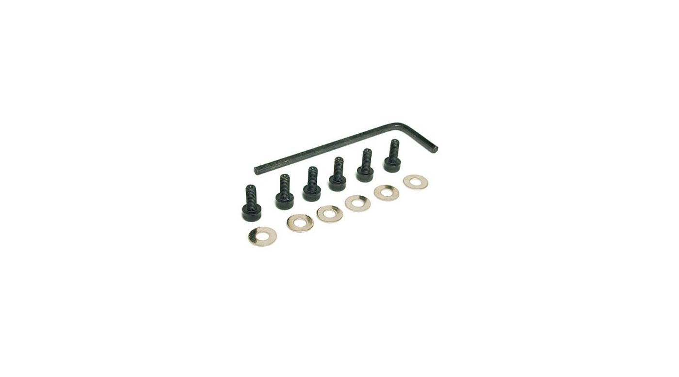 Image for Hex Screw 3 X 8mm w/Wrench & Wsh from HorizonHobby