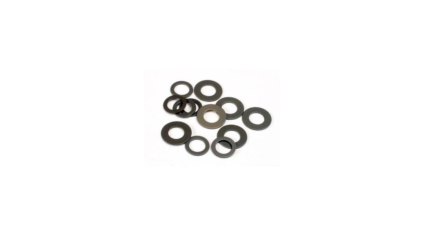 Image for Fiber Washers Lg & Sm:S,H,SS from HorizonHobby