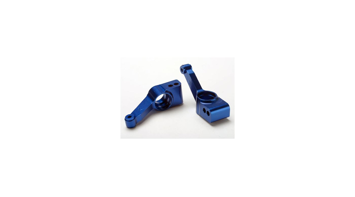 Image for Carriers, Stub Axle, Rear, Blue (2): SLH 4x4 from HorizonHobby