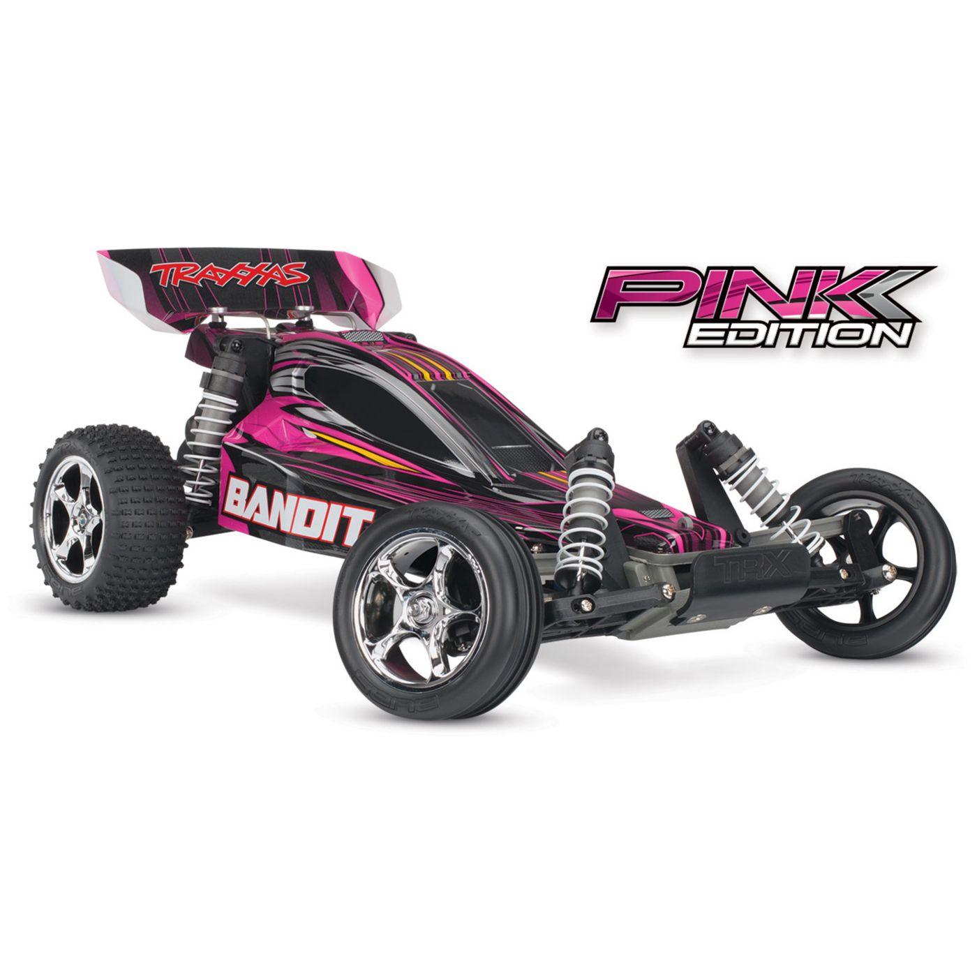 1 10 bandit xl 5 2wd buggy brushed rtr pink edition horizonhobby rh horizonhobby com Traxxas Slayer traxxas bandit vxl owners manual
