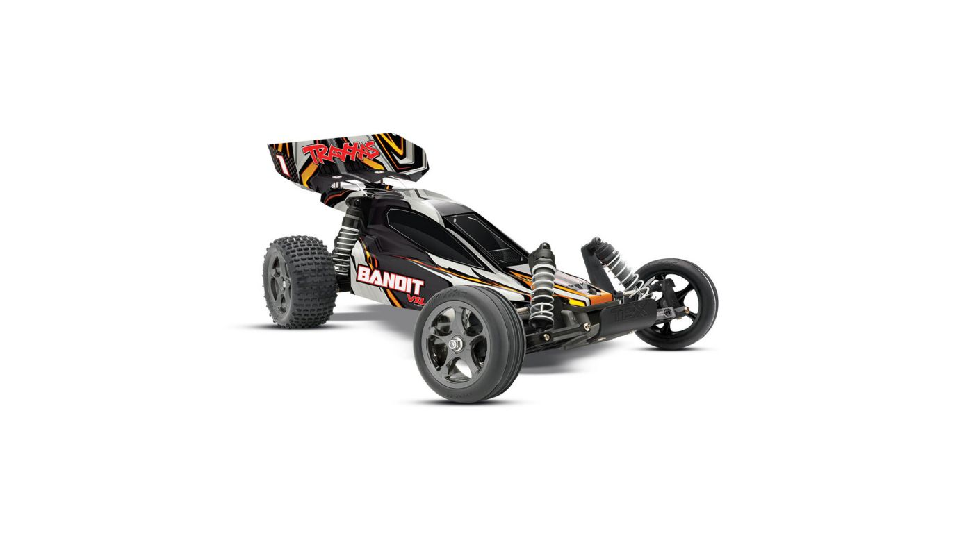 Image for 1/10 Bandit VXL RTR without Module, 2.4GHz TQi Radio: Black from HorizonHobby