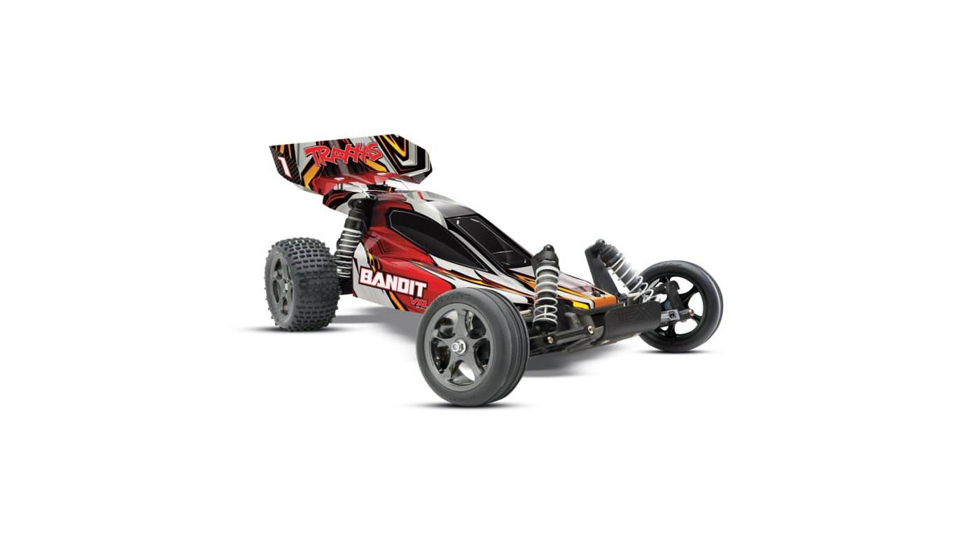 Image for 1/10 Bandit VXL RTR without Module, 2.4GHz TQi Radio: Red from HorizonHobby