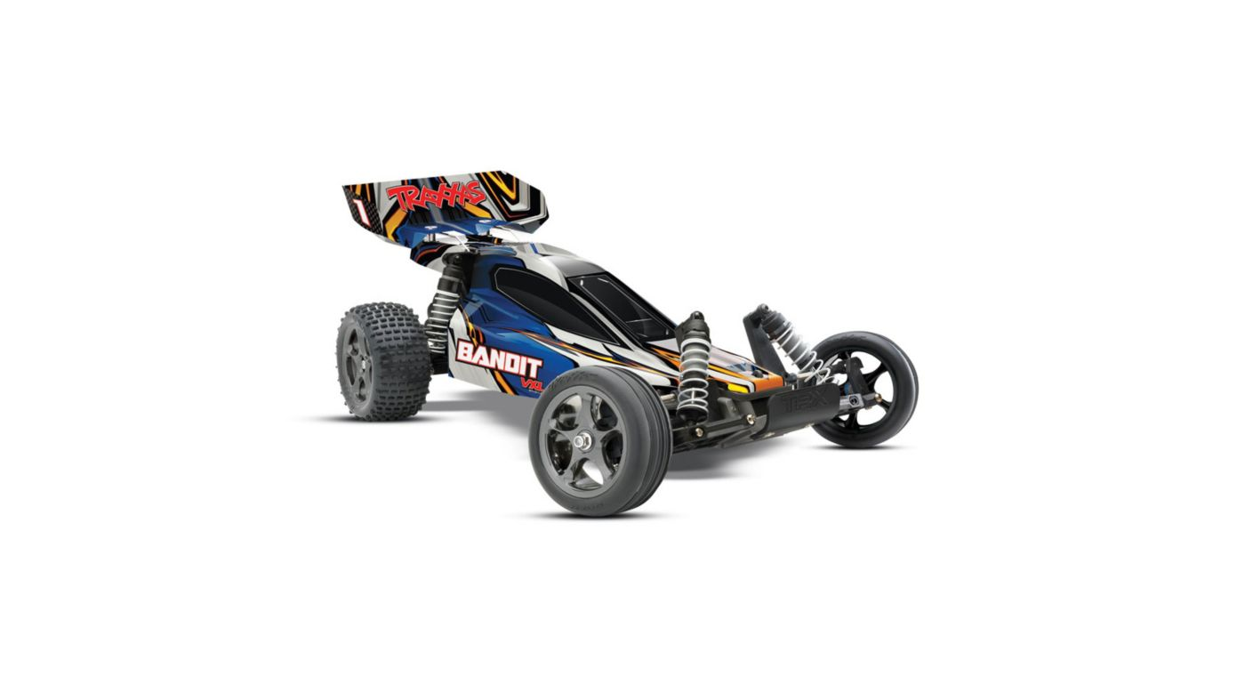 Image for 1/10 Bandit VXL RTR without Module, 2.4GHz TQi Radio: Blue from HorizonHobby