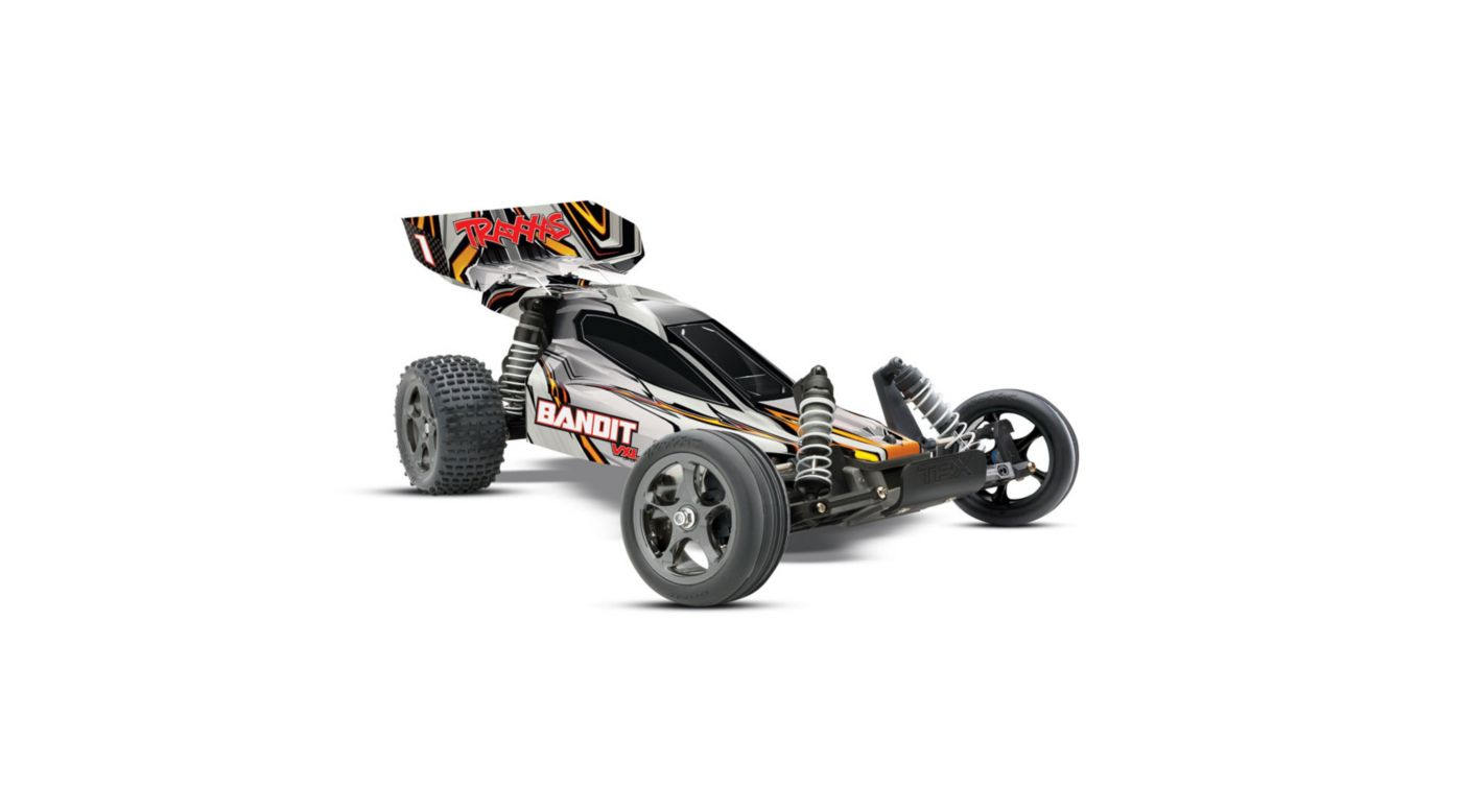 Image for 1/10 Bandit VXL RTR without Module, 2.4GHz TQi Radio: White from HorizonHobby