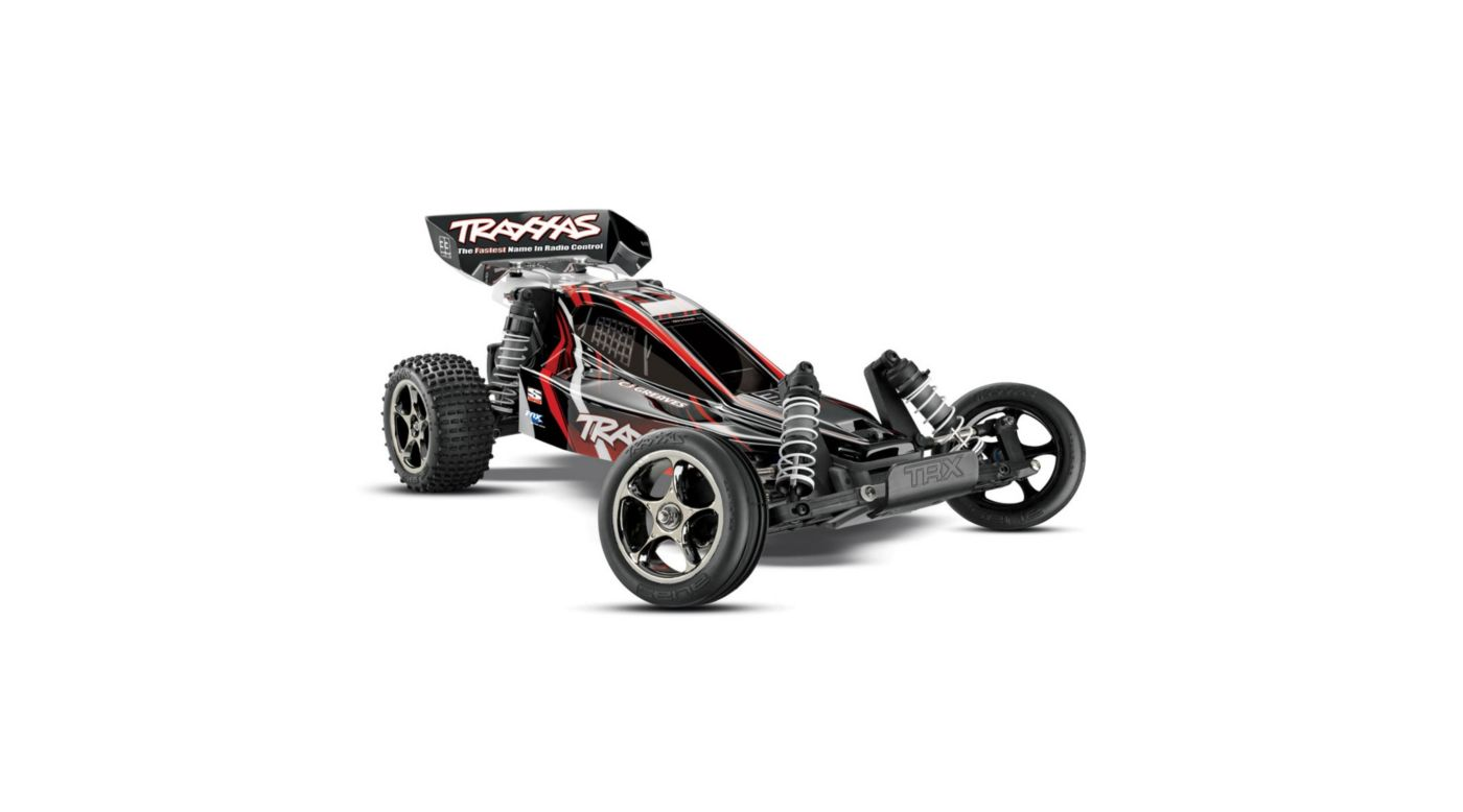 Image for 1/10 Bandit VXL RTR without Module, 2.4GHz TQi Radio: Black/Red from HorizonHobby