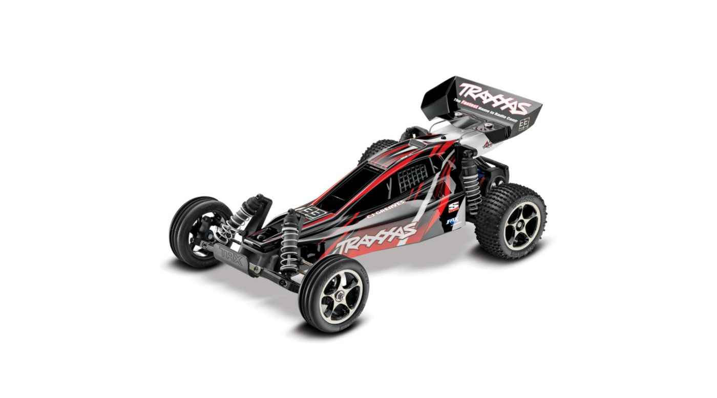 Image for Bandit VXL RTR with 2.4TQi Radio:Blk/Red (CJ Greaves) from HorizonHobby