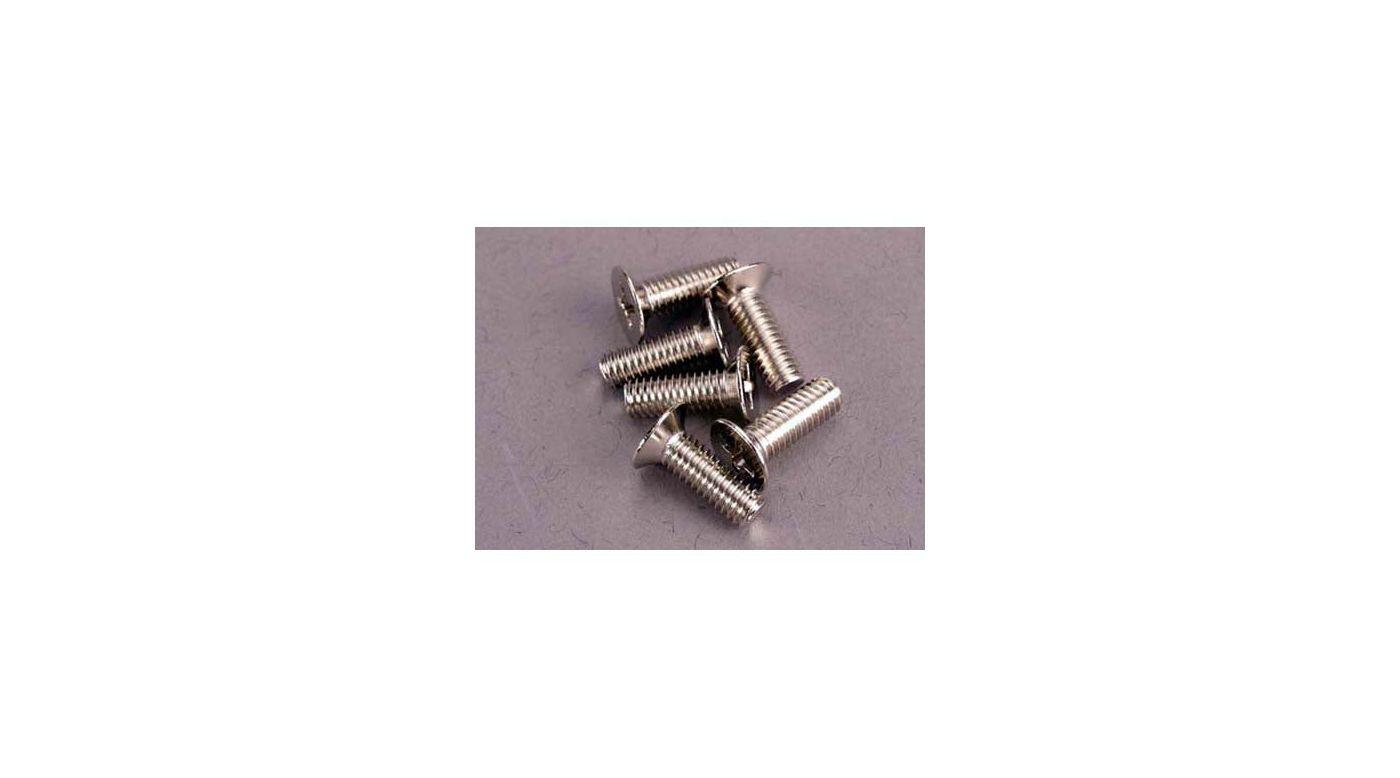 Image for Screws,4 x 12mm Steel,100Deg from HorizonHobby