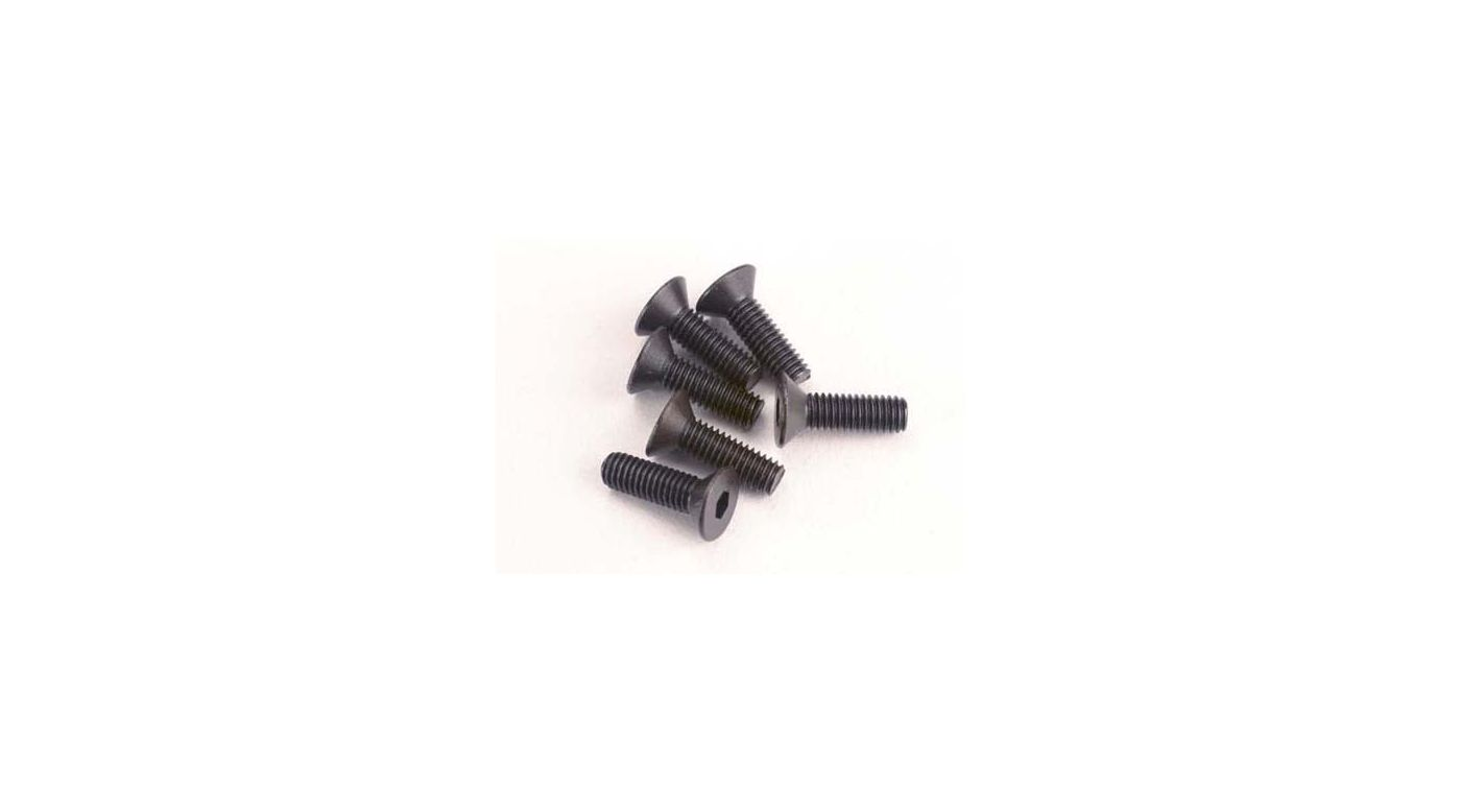 Image for Screws, 3 x 10mm Countersunk(6):SLY from HorizonHobby