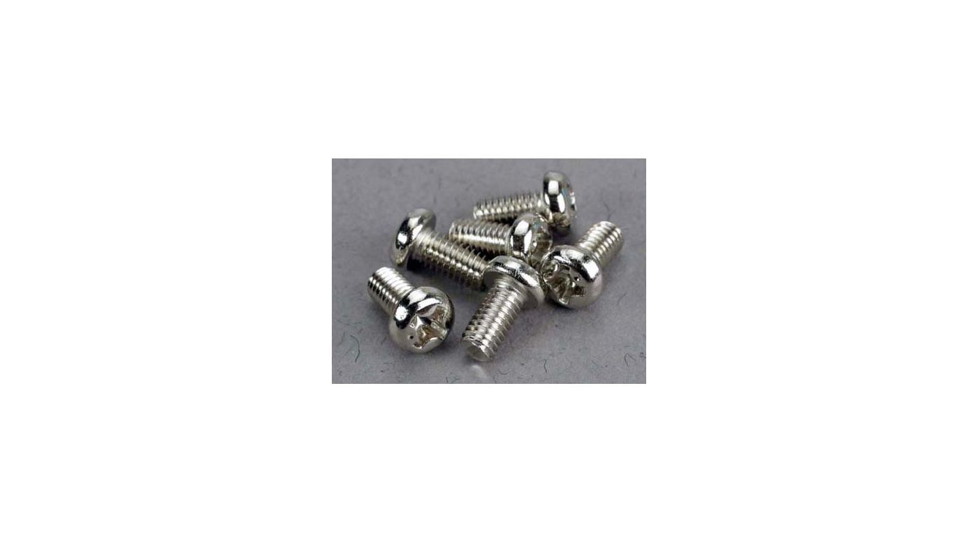 Image for Screws,3x6mm Roundhead Machine (6) from HorizonHobby