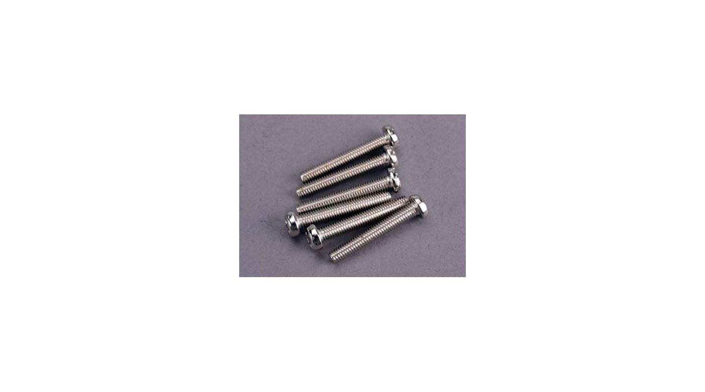Image for Screws, 3 X 20mm Roundhead (6) from HorizonHobby